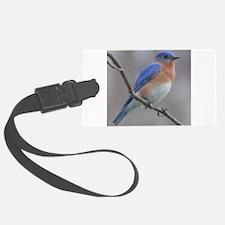 Eastern Bluebird Luggage Tag