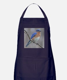 Eastern Bluebird Apron (dark)