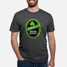 Cute Label art Mens Tri-blend T-Shirt