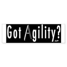 Got Agility Bumper Bumper Sticker