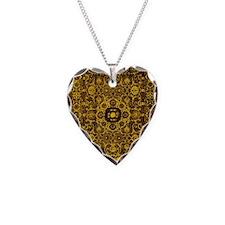 Oriental Rug Brown Necklace