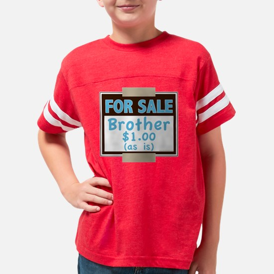 BroForSale Youth Football Shirt