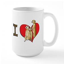 I heart meerkats Mug