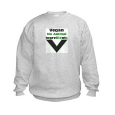 No Animal Ingredients Sweatshirt