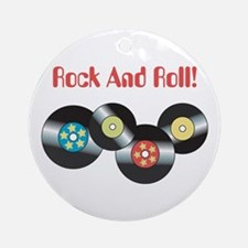 Rock And Roll Ornament (Round)