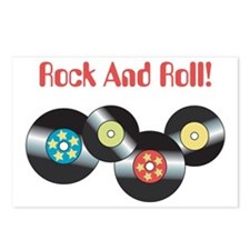 Rock And Roll Postcards (Package of 8)
