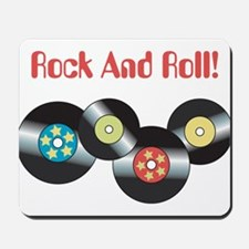 Rock And Roll Mousepad