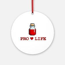 Zelda Pro-Life Ornament (Round)