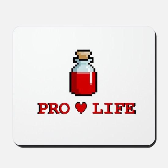 Zelda Pro-Life Mousepad