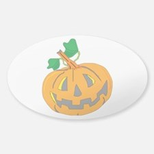 Halloween Carved Pumpkin Decal