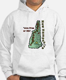 New Hampshire - Live Free or Die Jumper Hoody