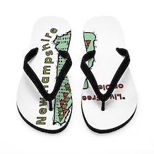 New Hampshire - Live Free or Die Flip Flops