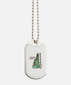 New Hampshire - Live Free or Die Dog Tags