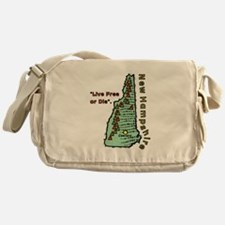 New Hampshire - Live Free or Die Messenger Bag