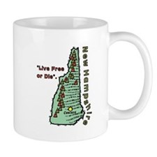 New Hampshire - Live Free or Die Mug