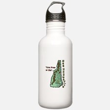 New Hampshire - Live Free or Die Water Bottle