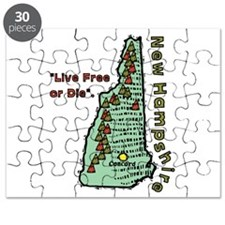 New Hampshire - Live Free or Die Puzzle