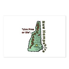 New Hampshire - Live Free or Die Postcards (Packag