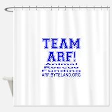 TEAM ARF! Shower Curtain