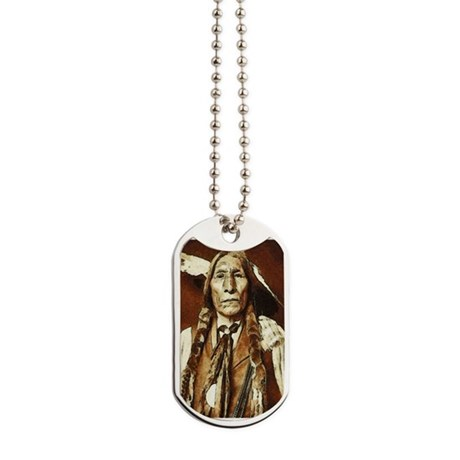 Wolf Robe - Cheyenne Dog Tags