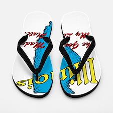 Illinois Motto - The Governor Flip Flops