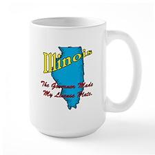 Illinois Motto - The Governor Mug