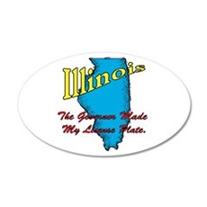 Illinois Motto - The Governor Wall Decal