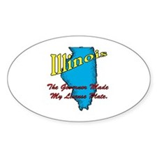 Illinois Motto - The Governor Decal