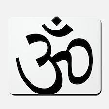 Yoga Ohm, Om Symbol Mousepad