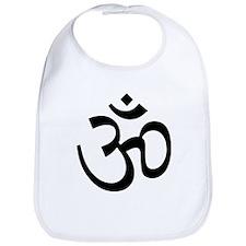 Yoga Ohm, Om Symbol Bib