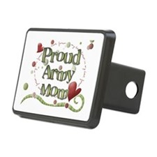 Proud Army Mom whimsy Hitch Cover