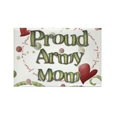 Proud Army Mom whimsy Magnets