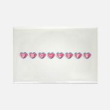 Zelda Pro-Life Hearts Rectangle Magnet (10 pack)