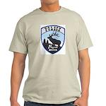 Payson Police Ash Grey T-Shirt