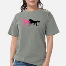 Horses (B&P) Womens Comfort Colors Shirt