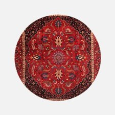 "Persian Mashad Rug 3.5"" Button"
