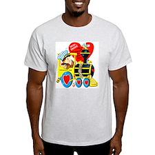 Choo Choose Me Ash Grey T-Shirt