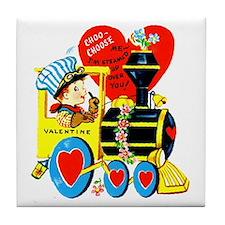 Choo Choose Me Tile Coaster
