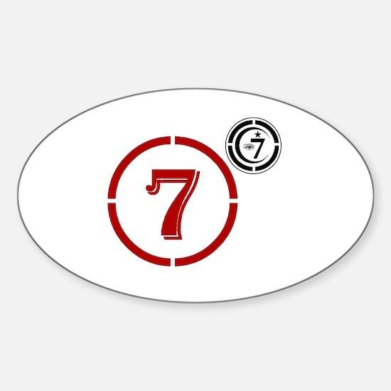 Cute Moorish Sticker (Oval)