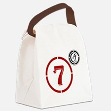 Cool Eyed Canvas Lunch Bag