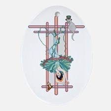 The Hanged Woman Ornament (Oval)