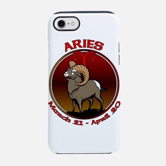Aries Astrology Art iPhone 7 Tough Case