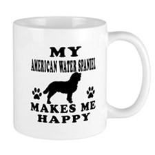 My American Water Spaniel makes me happy Mug