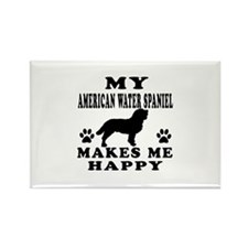 My American Water Spaniel makes me happy Rectangle