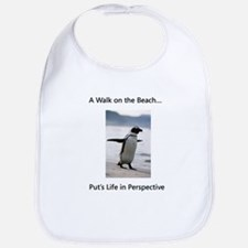 Penguin Walk Bib