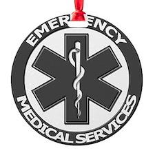 EMS logo with transparent border Ornament