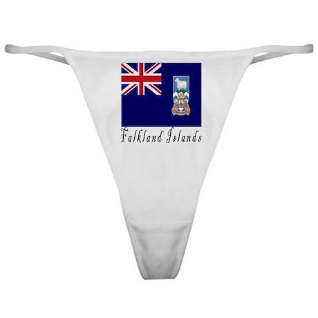 Falkland Islands Classic Thong