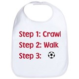 Baby soccer Cotton Bibs