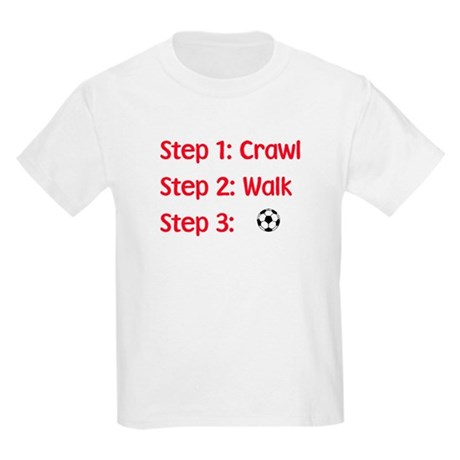 Step 3: Soccer Kids T-Shirt
