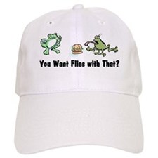 Want Flies With That? Baseball Cap